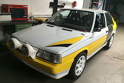 Renault 11 Turbo Gr A rental