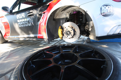 Porsche GT2 suspension tuning